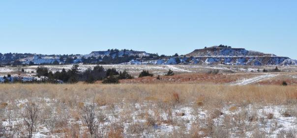Actual hills in actual Kansas